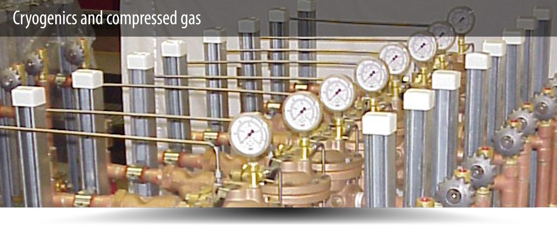Cryogenics compressed gas flexonics